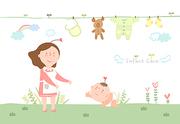 [ILL103] 임신출산육아 003