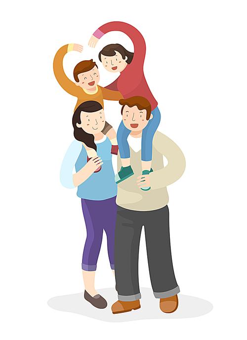 [ILL101] Family unity019