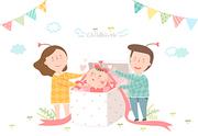 [ILL103] 임신출산육아 012
