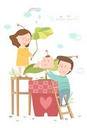 [ILL103] 임신출산육아 019