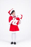 크리스마스 소녀 012