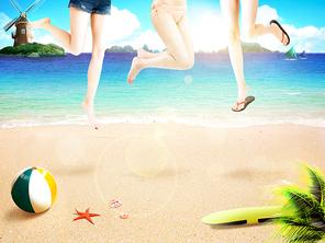 여름배경 018