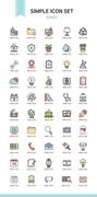 아이콘 심플 비즈니스2 (다울)