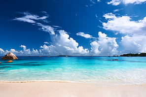 Beautiful beach at Seychelles|Praslin|Anse Lazio
