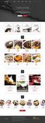 음식 쇼핑몰 템플릿 007