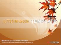 가을 단풍 그래픽 디자인