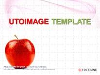 붉은 사과 디자인