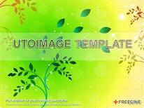 심플 식물 그래픽 디자인