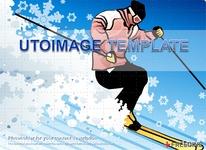 스키 디자인