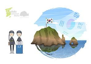 [ILL098] 한국랜드마크 010