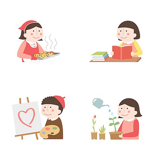 [ILL112] 휴먼아이콘 012