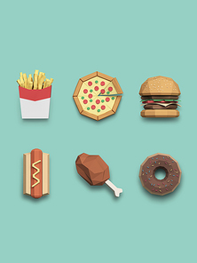 [FUS100] Lowpoly Icon001