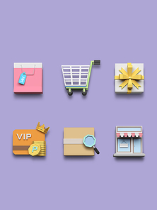 [FUS100] Lowpoly Icon003