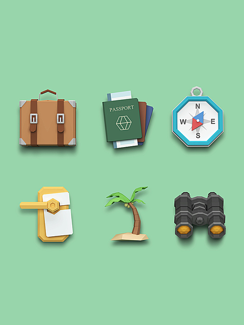 [FUS100] Lowpoly Icon009