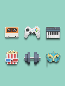[FUS100] Lowpoly Icon012