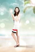 해변의 여인 007