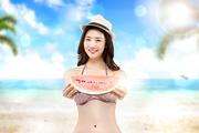 해변의 여인 017