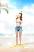 해변의 여인 023