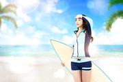 해변의 여인 024