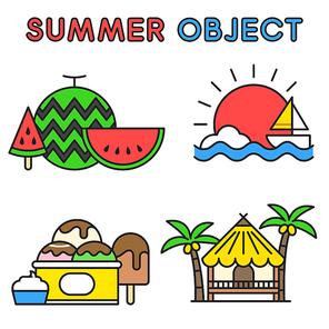여름 오브젝트 002