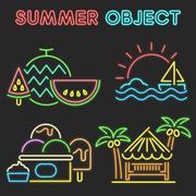 여름 오브젝트 004