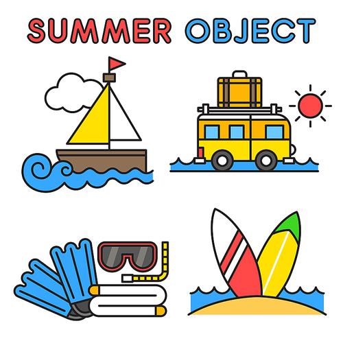 여름 오브젝트 010