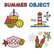 여름 오브젝트 022