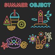 여름 오브젝트 024