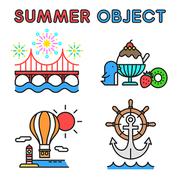 여름 오브젝트 026