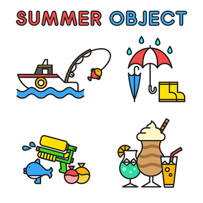 여름 오브젝트 030