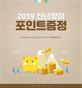 2019신년맞이 포인트 증정