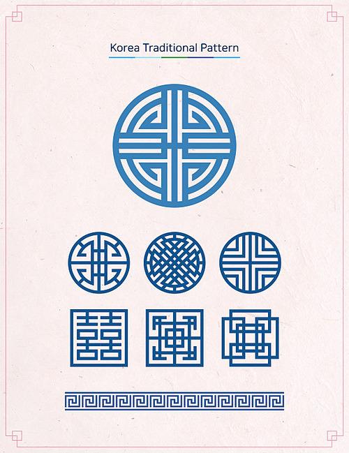 한국 전통문양 01