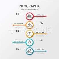 디자인 인포그래픽 비즈니스24 (러블리하)