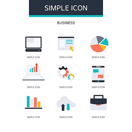 아이콘 심플 비즈니스7 (러블리하)