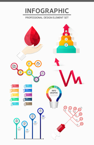 디자인 인포그래픽 묶음7 (러블리하)