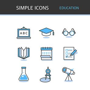 아이콘 심플 교육 (하니양)