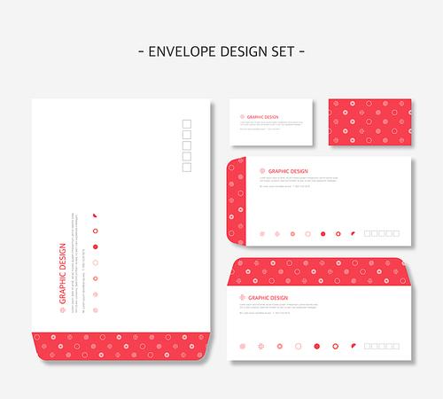 디자인 배경 봉투 (하니양)