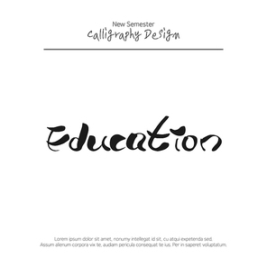 캘리그라피 교육3 (빈나)