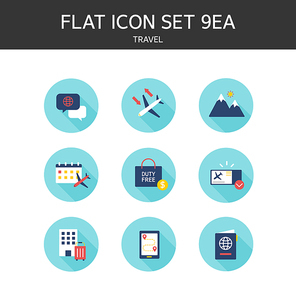 플랫 아이콘3 (GIONE)