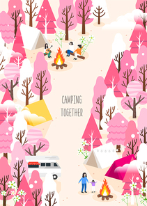 캠핑을 떠나자5 (러블리하)
