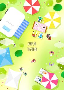캠핑을 떠나자7 (러블리하)