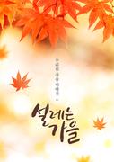 가을 감성 캘리 편집1 (GIONE)