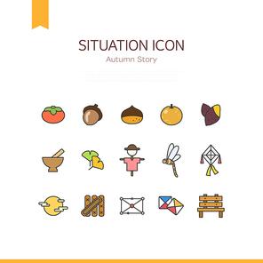 쓰기좋은 플렛 상황 아이콘 02(BBBIC)