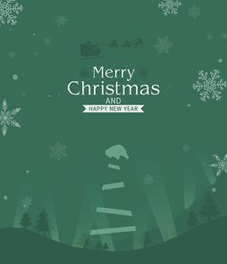 크리스마스 배경 일러스트05(BBBIC)