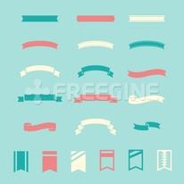 Illust_lable_ribbon