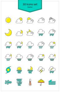 [아이콘] 날씨