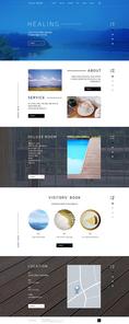 [웹디자인] 비즈니스 웹 메인페이지02