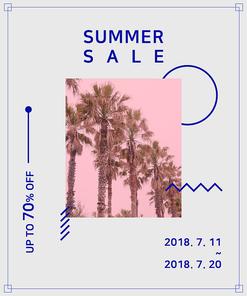 [그래픽] 여름 포스터 04