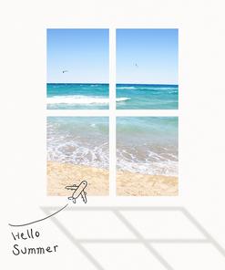 [그래픽] 여름 포스터 05
