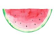 [일러스트] 여름 수채화 - 수박